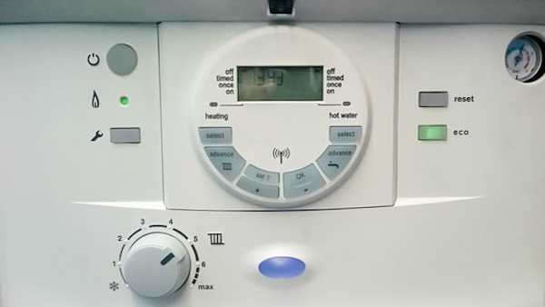 Worcester Greenstar control panel.